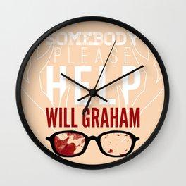 Somebody please help Will Graham Wall Clock