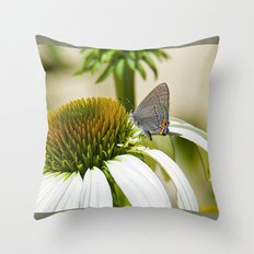 Lazy, Daisy, days of Summer Throw Pillow
