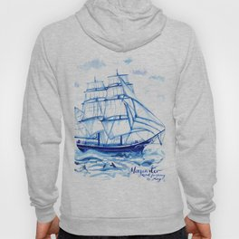 Set the sails! All aboard the Morgenster Hoody