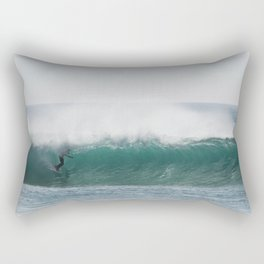 Glassy perfection Rectangular Pillow