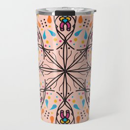 Phallic Mandala with a hint of Anus Travel Mug