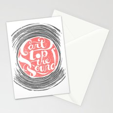 Can't Stop the Sound Stationery Cards