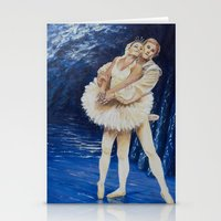 ballet Stationery Cards featuring ballet by Eva Gudmunds