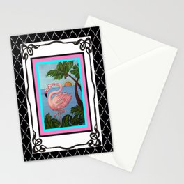 Flamingo Paradise Stationery Cards