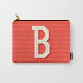 Monogram letter B Carry-All Pouch