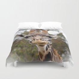Masai Giraffee Duvet Cover