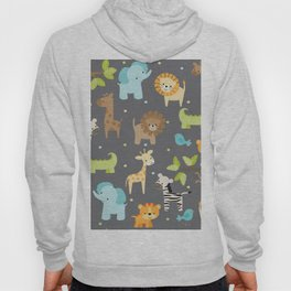 Jungle Animals Hoody