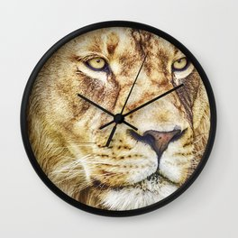 Lion Canvas Print, Photographic Print, Art Print, Framed Print, Greeting Card, iPhone Case, Wall Clock