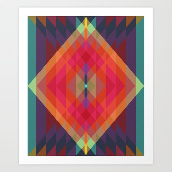 Tribal VIII Art Print