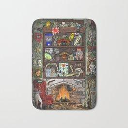 Creepy Cabinet of Curiosities Bath Mat