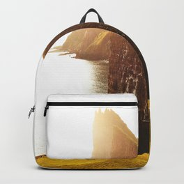 camping at the faroe islands Backpack