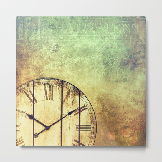 AS TIME GOES BY ... Metal Print
