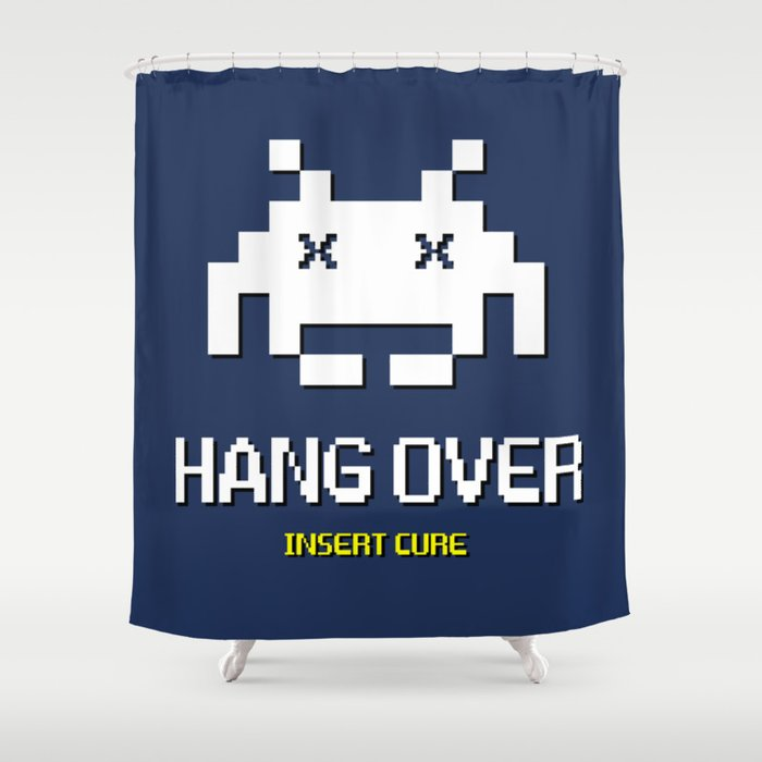 HANG OVER - Insert Cure Shower Curtain