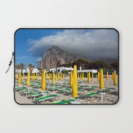 Beach of San Vito Lo Capo Laptop Sleeve