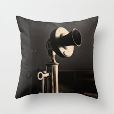 Call Waiting Throw Pillow
