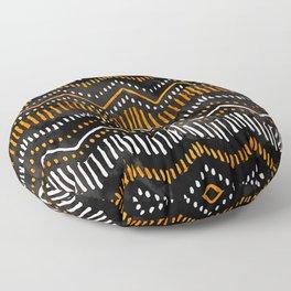 Handpainted Boho, Fall Floor Pillow