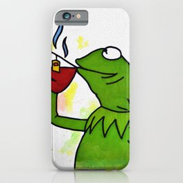 That's none of my business iPhone Case