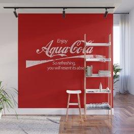 Enjoy Aqua-Cola! Wall Mural