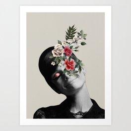 AUDREY HEPBURN 5 Art Print
