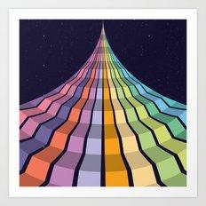 Space Walk #2 Art Print