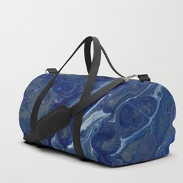 Cool Tone Splash Duffle Bag