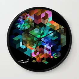 TETRIS Wall Clock