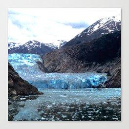 Hollowing Glacier Canvas Print