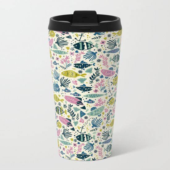 Little Fish Metal Travel Mug