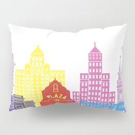 El Paso V2 skyline pop Pillow Sham