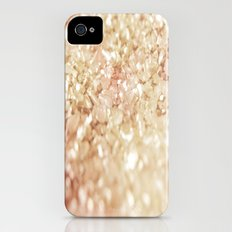 Pink and Gold Glitter  Slim Case iPhone (4, 4s)