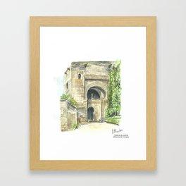 Puerta de la Justicia Framed Art Print