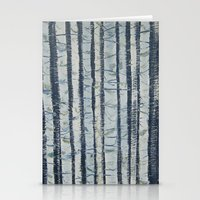birch Stationery Cards featuring Birch by Jess Banks