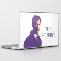 true detective Laptop & iPad Skins featuring TRUE DETECTIVE by Sunli
