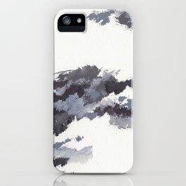 clouds_november iPhone Case