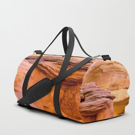 Colorful Sandstone, Valley of Fire State Park Duffle Bag