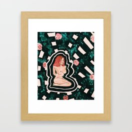 There's no way to describe what you do to me Framed Art Print