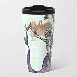 Skull Mermaid Travel Mug