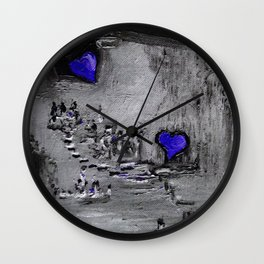 Purple Passion Manufacturing Company Wall Clock