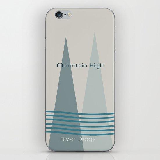 River Deep iPhone & iPod Skin