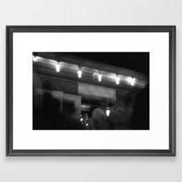 The White Horse part 2. Framed Art Print