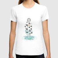 fireflies T-shirts featuring Fireflies in the Garden by Ruso