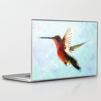 hummingbird Laptop & iPad Skins featuring Hummingbird by Nichole B.