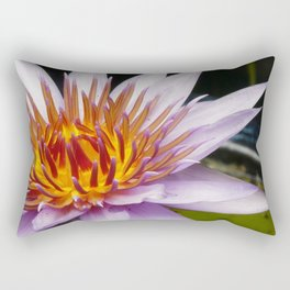 Nymphaea 'Rhonda Kay' III Rectangular Pillow