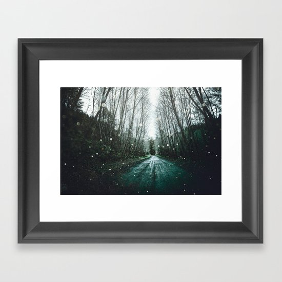Find yourself framed art print by cascadia society6 for Where to buy framed art