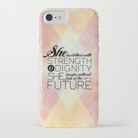 pocketfuel iPhone & iPod Cases featuring Proverbs 31 She is...  by Pocket Fuel