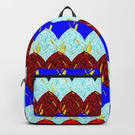 Red White and Blue Scales Backpack