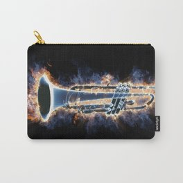 Fire trumpet in concert Carry-All Pouch