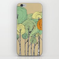 fall iPhone & iPod Skins featuring Fall by Chris Gregori
