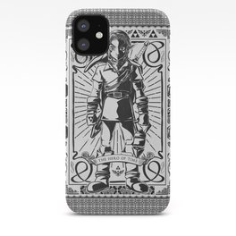 Legend of Zelda - Epic Link Vintage Geek Line Artly iPhone Case