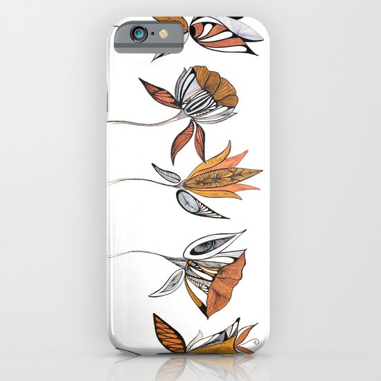 five flowers iPhone & iPod Case